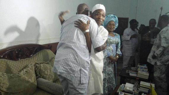 Ayo Fayose and Rauf Aregbesola