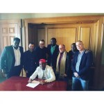 Historical Record Deal Sealed & Signed : Davido Becomes First African to Sign Multi-Billion Dollar Recording Deal with Sony Music