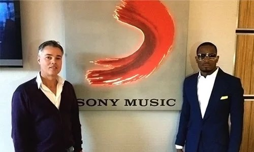 In 2012, D'banj Ink Global Distribution and Partnership Deal with Sony Music Entertainment African