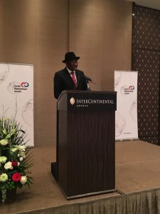 Ex-President Goodluck Jonathan in Geneva