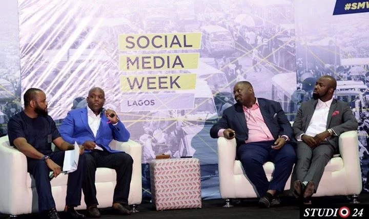 Music Panelists at Social Media Week Lagos 2016