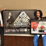 Rihanna Awarded with RIAA Legend Status : Rihanna Makes History as First and Only Artist with RIAA 100M Song Awards