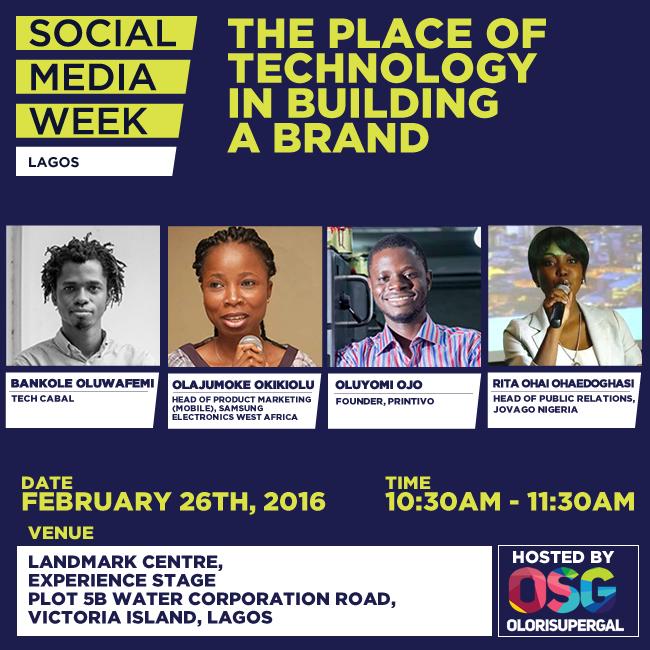 Social Media Week Lagos by Olorisupergal