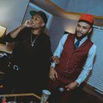 Monster Collaboration Alert : Wizkid & Jidenna Hit the Studio in LA