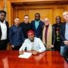 Sony Music Entertainment Signs Davido