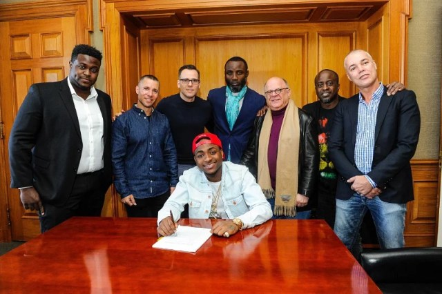 Sony Music Entertainment Signs Davido