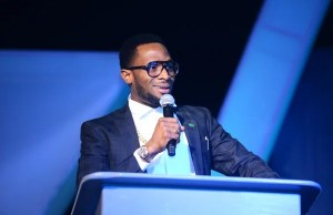 Dbanj Speaking at Nigeria Entertainment Conference 2016