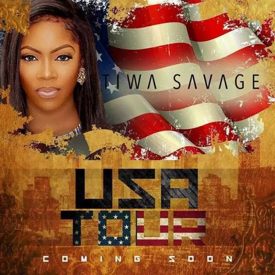 Tiwa Savage to Embark on US Tour