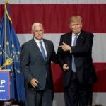 2016 U.S Presidential Election : Republican Party Presidential Candidate Donald Trump Picks Indiana Governor Mike Pence as Running Mate