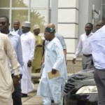 Is Obasanjo Back to PDP? Former President Olusegun Obasanjo Sighted at the Inauguration of PDP National Convention Committee