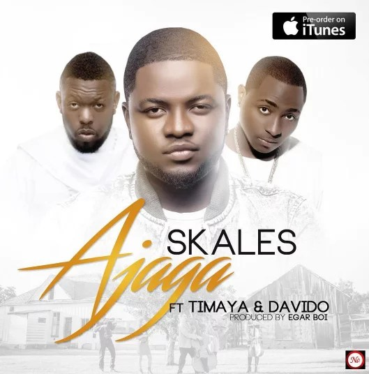 Skales -- Ajaga Ft. Timaya & Davido Cover Art