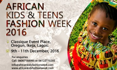 African Kids and Teens Fashion Week 2016 02