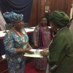 Photos : Former Finance Minister Ngozi Okonjo-Iweala Honored with National Awards in Liberia and Cote d'Ivoire