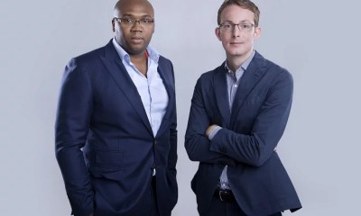 Jason Njoku and Bastian Gotter iROKOtv