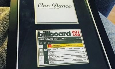 ASCAP Honour Wizkid for Writing Drake's One Dance