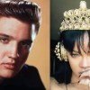 Elvis Presley and Rihanna