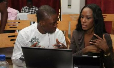 JJ Omojuwa and Linda Ikeji