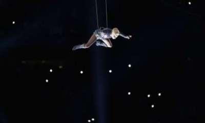 Lady Gaga Super Bowl Half-time Performance 01