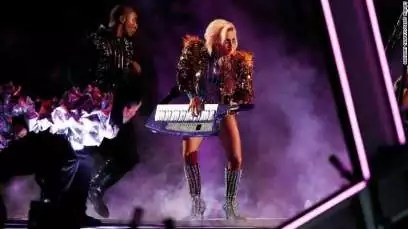 Lady Gaga Super Bowl Half-time Performance 03