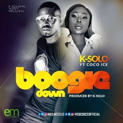 K-Solo -- Boogie Down Ft. Cocoice Cover Art