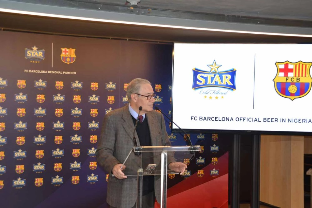 Star Lager Beer and FC Barcelona 00