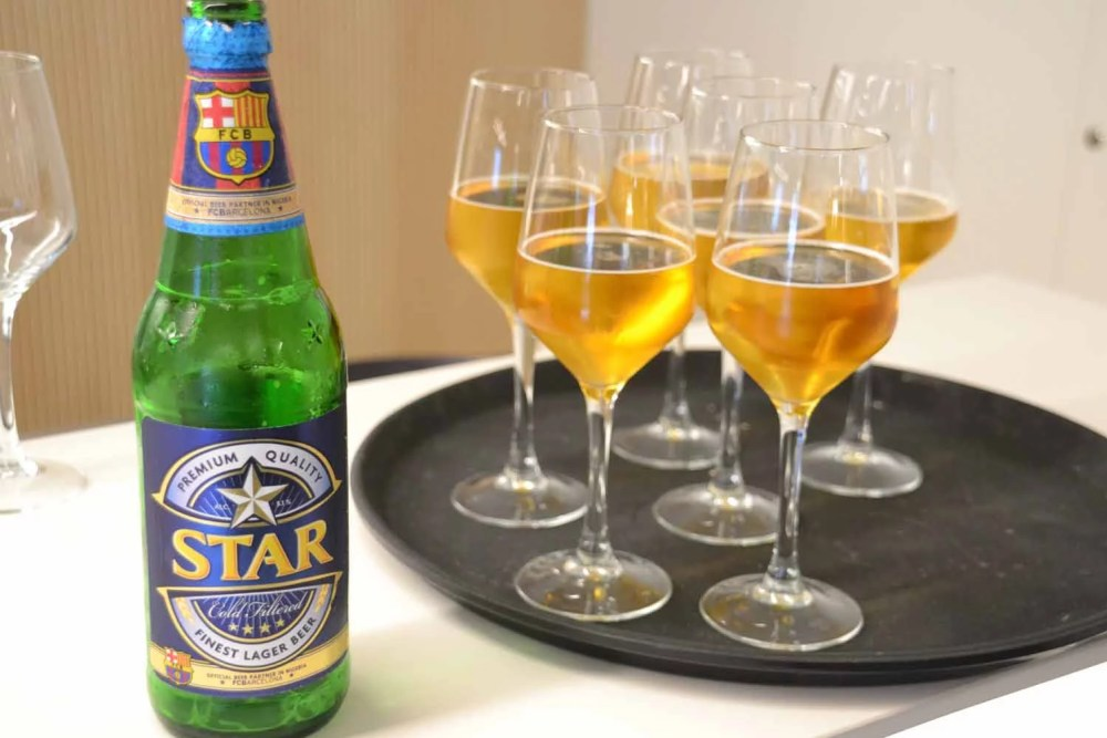 Star Lager Beer and FC Barcelona 06