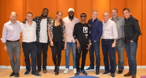 Wizkid and RCA Records Team