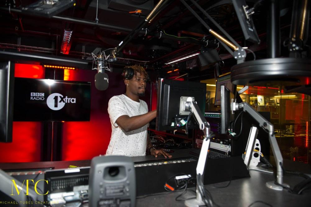 Ycee on BBC Radio 1 Xtra 01