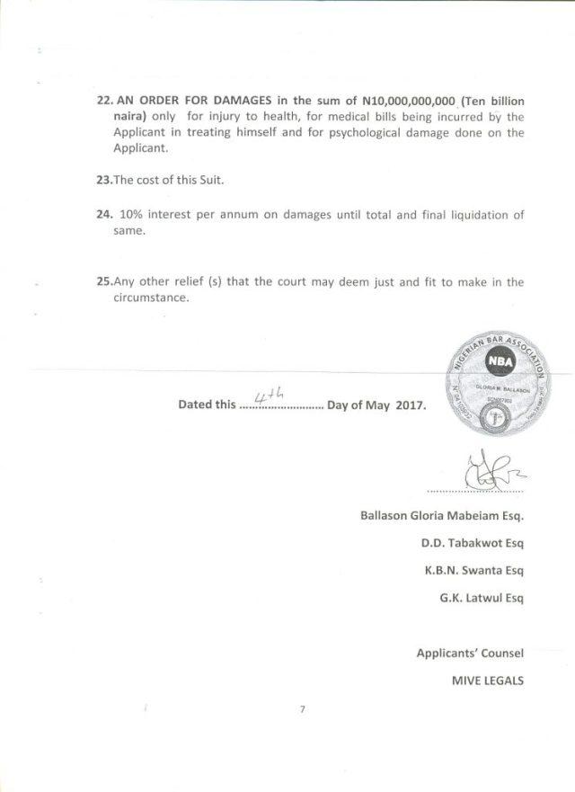 Audu Maikori Sues Governor El Rufai 05