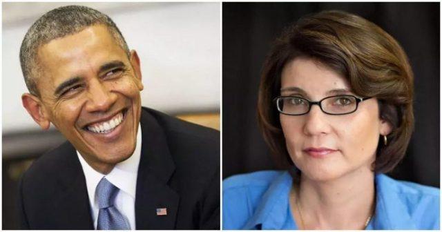 Barrack Obama and Sheila Miyoshi Jager