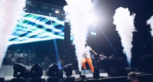 Cassper Nyovest performing at One Africa Music Fest London