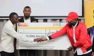 Dbanj Cream Winner