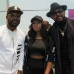Exclusive Pictures as Banky W, Falz, Victoria Kimani & Cassper Nyovest Arrives London for One Africa Music Fest London Shutdown