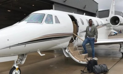 Dammy Krane in Private Jets
