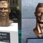 After Trial Effort from Cristiano Ronaldo, A Superb Bust Statue Of Gareth Bale Is Unveiled