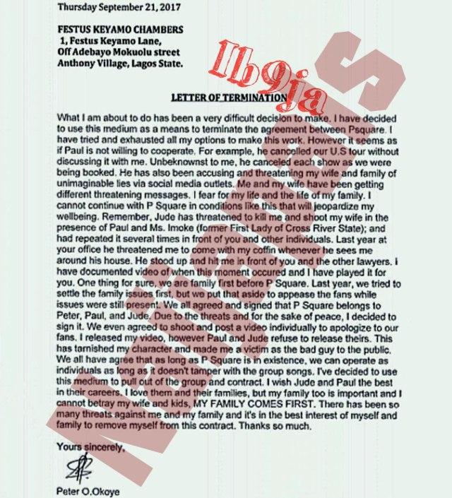 Terminated Copy of P-Sqaure Split Saga