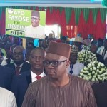 Photos as Fayose Declares Intention for President Comes 2019