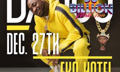 Davido First Concert in Lagos
