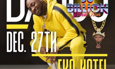 Davido First Concert in Lagos