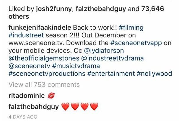 Funke Akindele Back to Work
