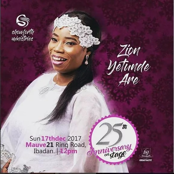 Yetunde Are 25-Years On Stage Live Concert 00
