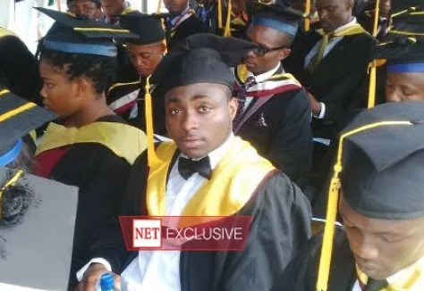 Davido Graduates