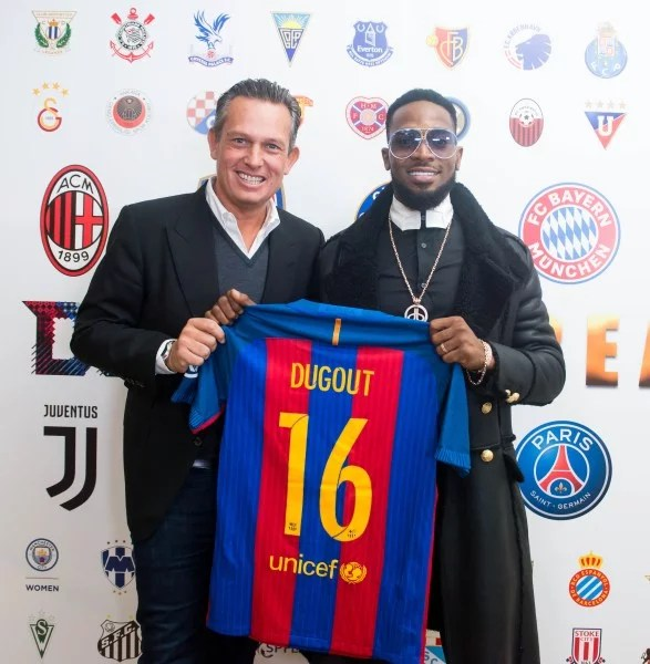 Dbanj Launches CREAM Sports 05