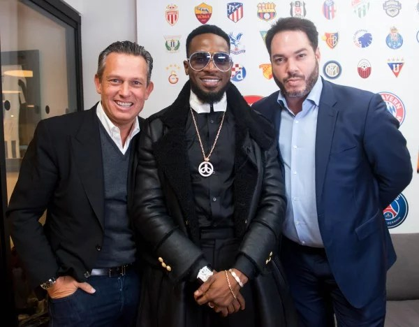 Dbanj Launches CREAM Sports 06