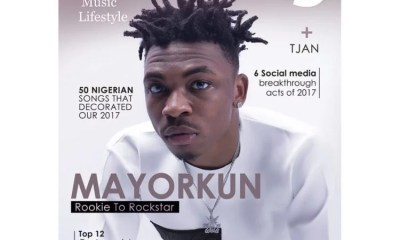 Mayorkun On Cover of Vibe Magazine 01