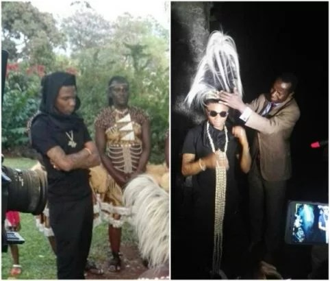 Wizkid Honored With A Chieftaincy