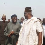 Photo News : Atiku Abubakar Visits Ekiti-State, Receives At Airport By Fayose & Other PDP Members