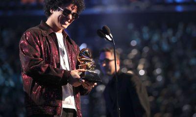 Burno Mars At Grammy Awards 2018