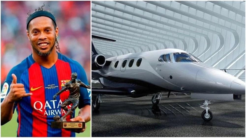 Ronaldinho - Embraer Phenom 100