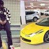 Wizkid and Hushpuppi Gucci Sweat Shirt